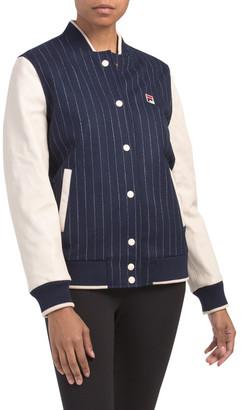 Melton Wool Varsity Jacket