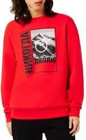 Topman Men's Hypersport Graphic Sweatshirt