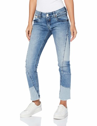 Herrlicher Women's Touch Patch Cropped Jeans