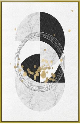 Jonathan Bass Studio Gold Touch Circles Gold Leaf