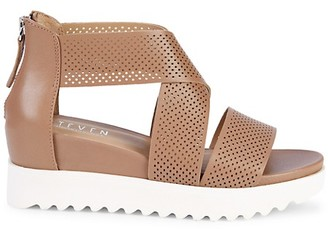 Steven Natural Comfort Klein Leather Sandals