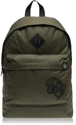Fabric Embroidered Backpack
