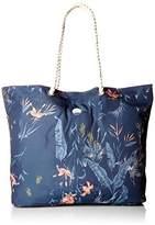 Roxy Tropical Vibe Printed Tote Beach Bag