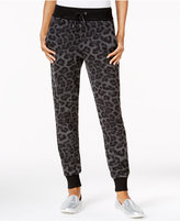 chelsea sky Animal-Print Jogger Pants, Only at Macy's