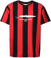 Yoshio Kubo striped football T-shirt