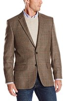 Haggar Men's Multi Houndstooth Lambswool Sport Coat