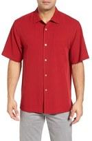 Tommy Bahama 'Catalina Twill' Short Sleeve Silk Camp Shirt (Big & Tall)