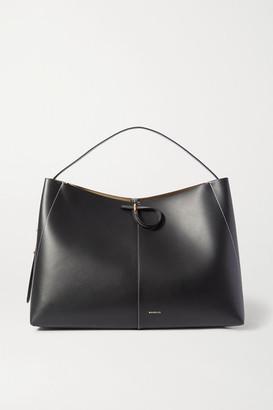 Wandler Ava Large Leather Tote - Black