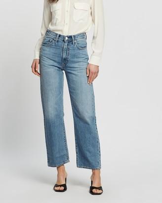 Levi's Wellthread Ribcage Straight Jeans