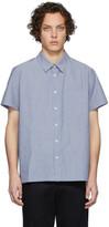 A.P.C. Blue Bruce Short Sleeve Shirt