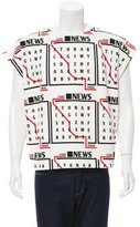 J.W.Anderson Spring 2016 Newsprint T-Shirt w/ Tags