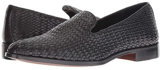 Carlos by Carlos Santana Nomad Loafer (Black Woven Calf Leather) Men's Shoes