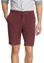 Vince Brushed Twill Solid Shorts