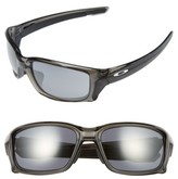 Oakley Men's Straightlink 61Mm Sunglasses - Grey