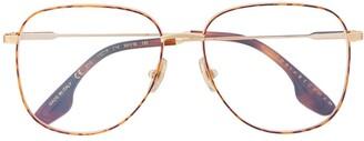 Victoria Beckham Oversized Square Frame Glasses