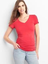 Maternity Pure Body short-sleeve V-neck tee