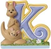 "Precious Moments 153425 Baby Gift, ""K Is for Kangaroo"" Alphabet Resin Figurine"