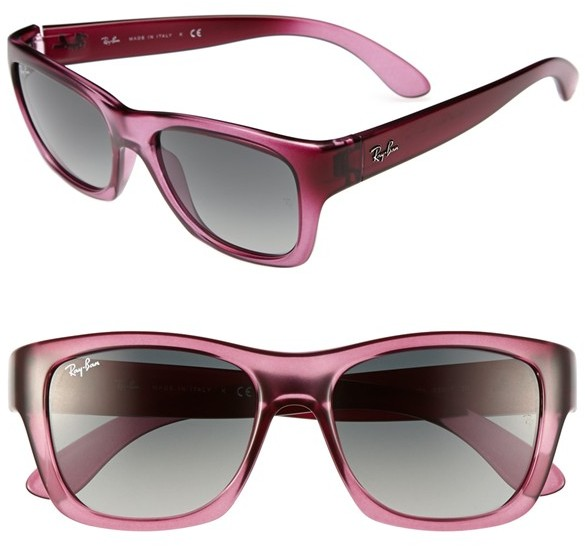 Ray-Ban 'Square Glam' 53mm Sunglasses