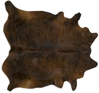 Saddlemans Dark Brindle Cowhide Rug