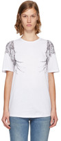 Alexander McQueen White Eagle T-shirt