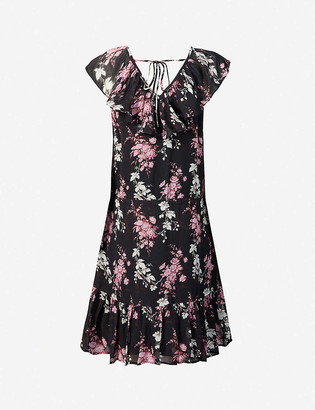 Paige Alesia floral-print silk-crepe mini dress