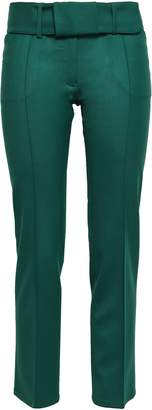 Marco De Vincenzo Wool-blend Twill Straight-leg Pants