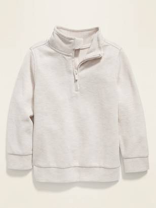 Old Navy 1/4-Zip French Rib Sweater for Toddler Boys