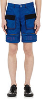 Hood by Air MEN'S MOMA CARGO SHORTS-BLUE SIZE S