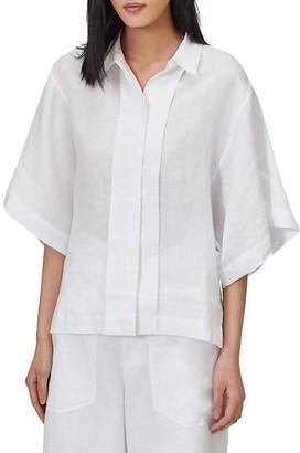 Equipment Chaney Kimono-Sleeve Blouse