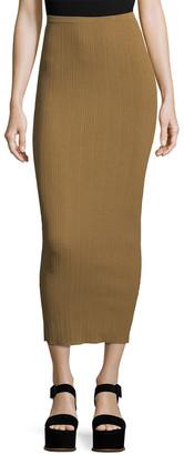 Ronny Kobo Bethanne Ribbed Skirt