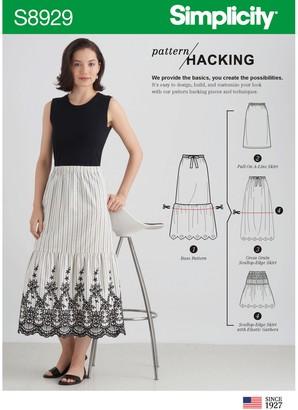 Simplicity Women's Skirt Sewing Pattern, 8929