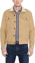 Levi's The Sherpa Corduroy Trucker Jacket, Harvest Gold