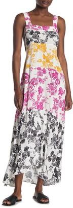 MSK Smocked Back Maxi Dress