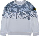 Stone Island Junior Boys Pixel Sweatshirt