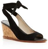 Bettye Muller Playlist Ankle Tie Wedge Sandals