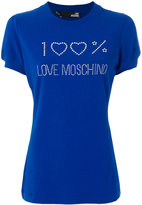 Love Moschino 100% Love T-shirt