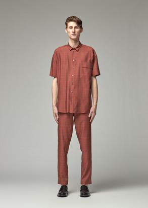 Stephan Schneider Men's Beach Short Sleeve Shirt in Brick Size III 100% Modal