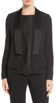 BOSS Women's Jefila Satin Collar Jacket