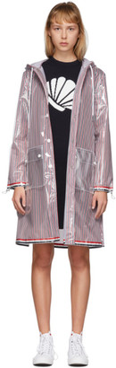 Thom Browne Multicolor Swing Back Rain Parka