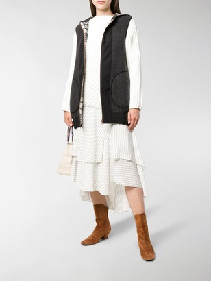 See by Chloe Zipped Hooded Gilet
