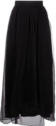 Brunello Cucinelli High-Waist Maxi Skirt