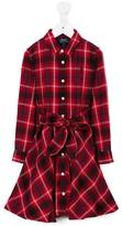 Ralph Lauren plaid shirt dress