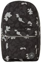 Converse New Mens Black Camouflage Cotton Backpack Backpacks