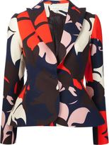 DELPOZO floral print blazer