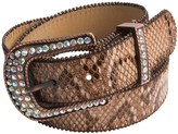 Roper Croco-Print Leather Belt (For Women)