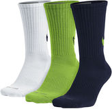 Nike 3-pk. Mens Dri-FIT HBR Crew Socks