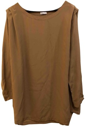 Kalita Beige Silk Dresses
