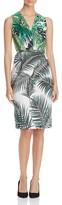 Max Mara Oppio Print-Blocked Dress