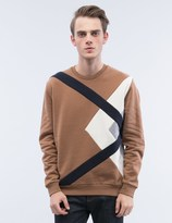 MSGM Diamond Patch Sweatshirt