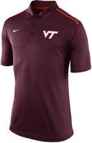 Nike Men's Virginia Tech Hokies Elite Coaches Polo Shirt